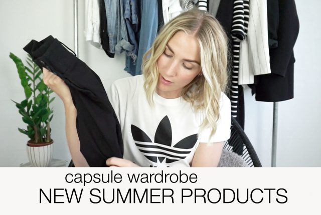 Video: 5 new products for my summer capsule.