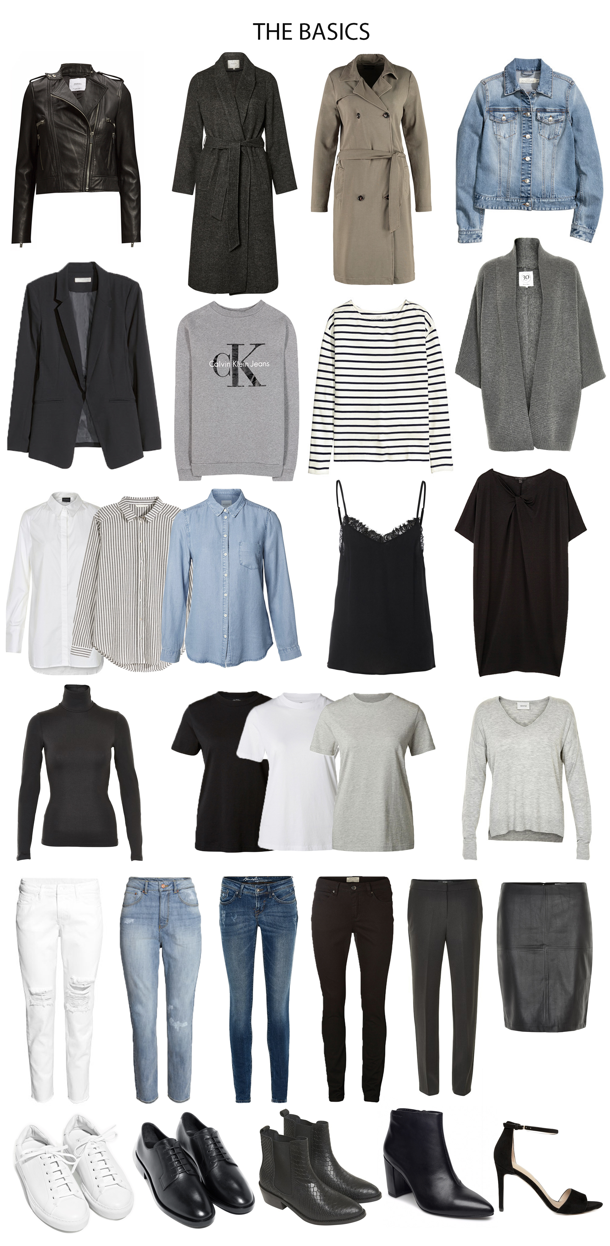 The Core Basics Of Any Wardrobe