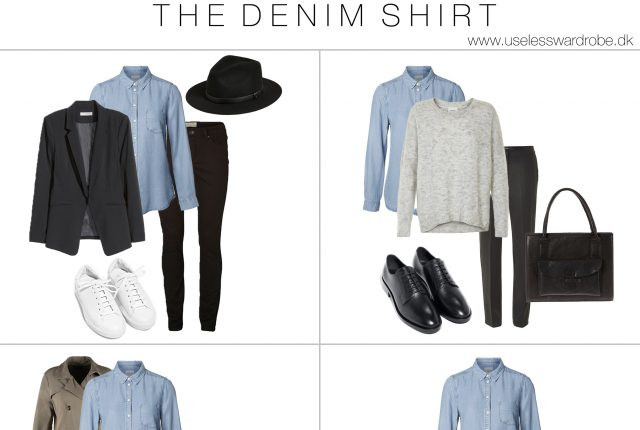 How to wear: the denim shirt.