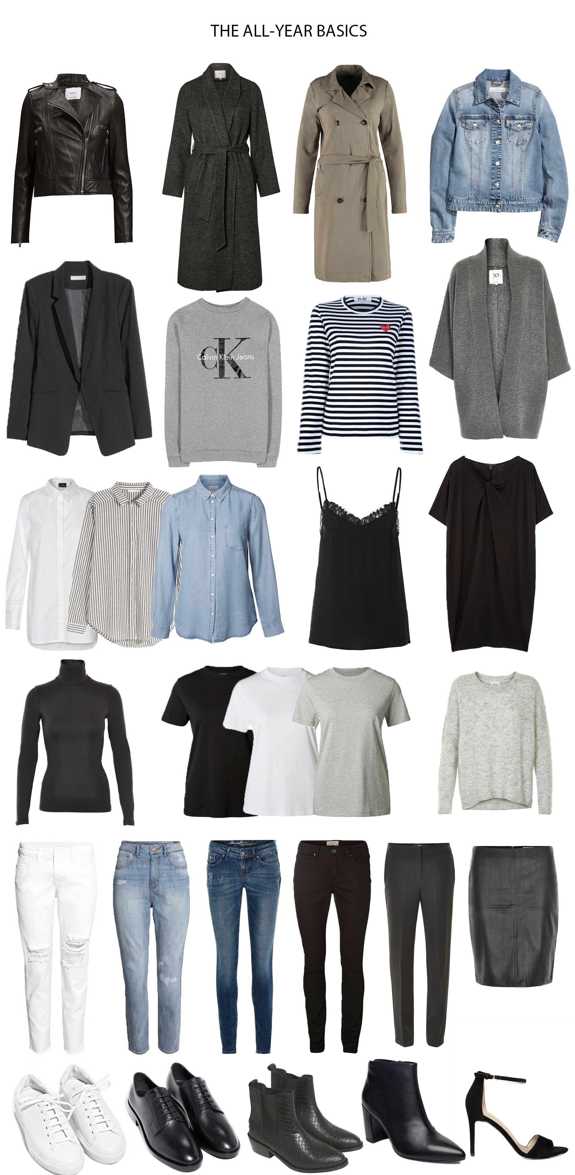 My own capsule wardrobe: spring 2017. – Use less