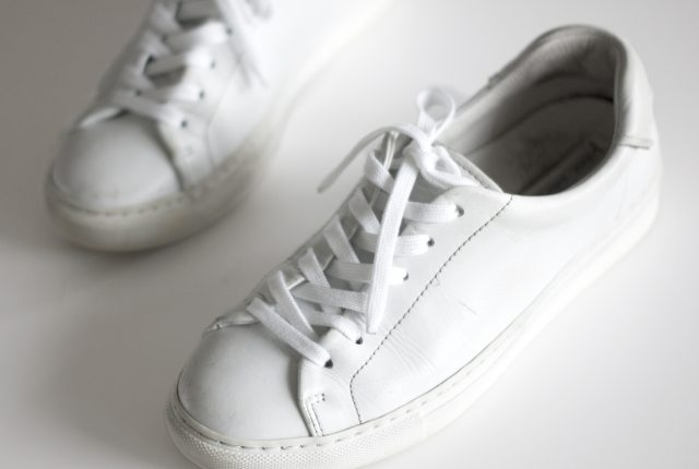 Make your white sneaks white again.