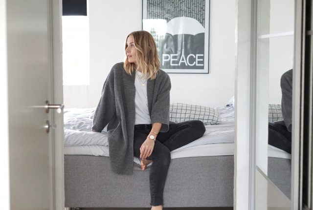The perfect grey cardigan to take you through winter.
