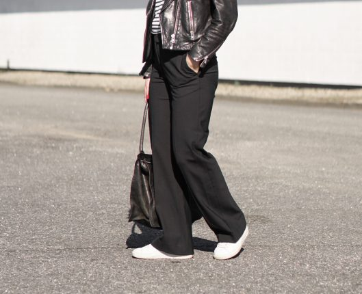 The perfect wide leg trousers (and some thoughts on the new brand ARKET)