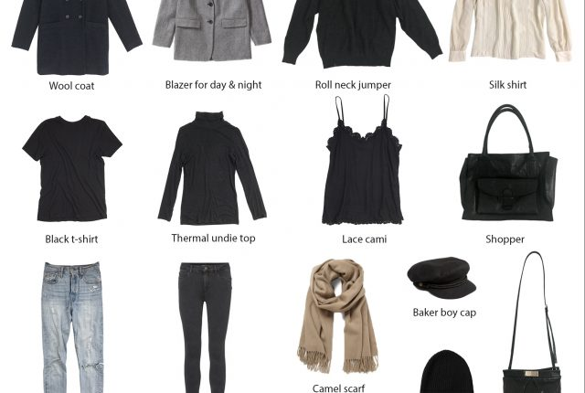 Four days in London: packing list & outfits.