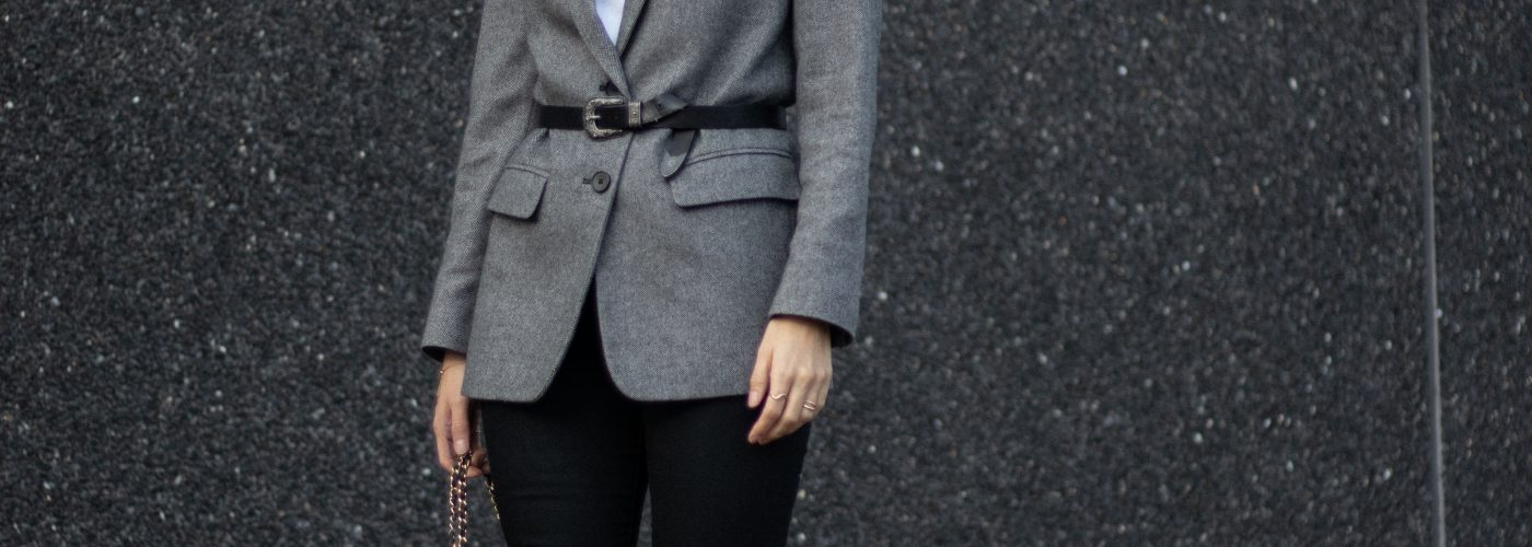 Old faves in new ways: a simple way to update your good old blazer
