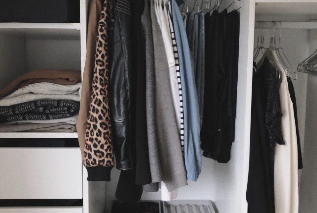 A simple winter capsule wardrobe.