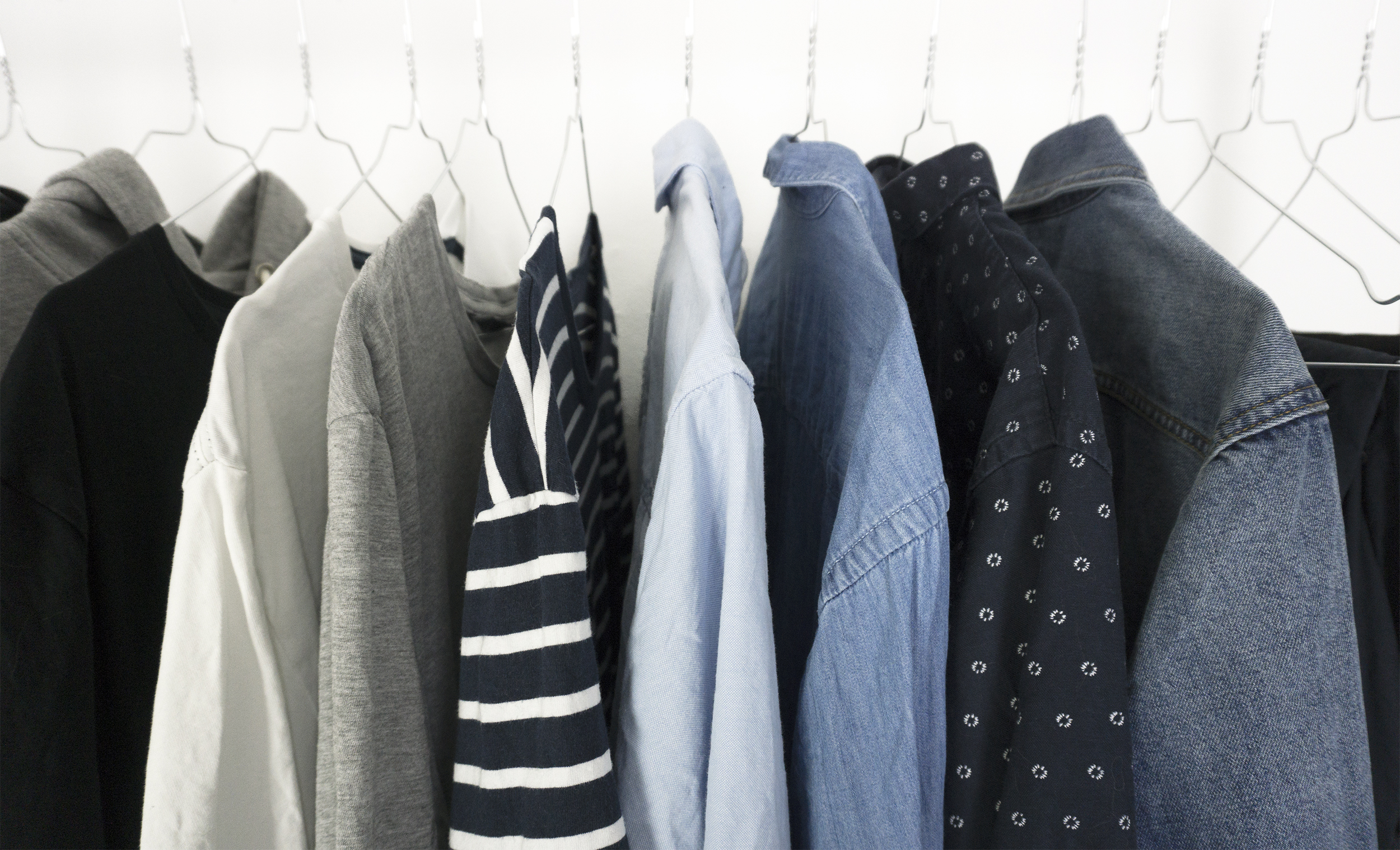 Capsule wardrobe: men's edition – use less