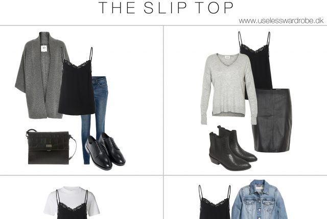 How to wear: the slip top.