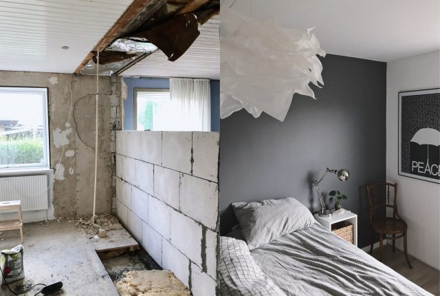 Home makeover #1: Bedroom before & after